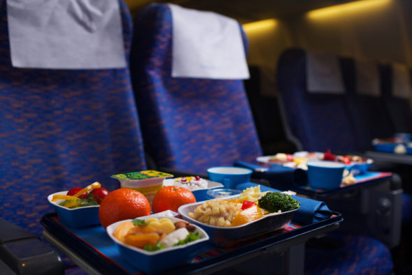 Is it Possible to Enjoy Airplane Food?